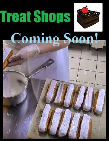 This is a list of bakeries and ice cream shops that will be opening soon to the Miami Florida area