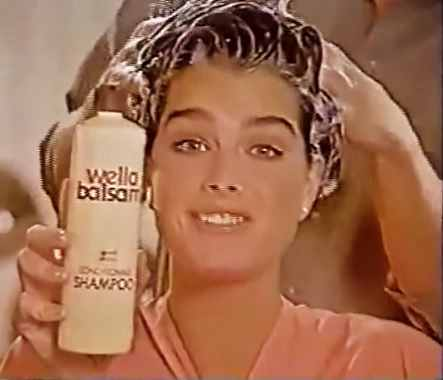 Brooke Shields for Wella Balsam